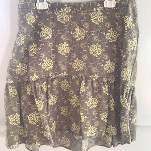 Gap Maternity Linen Skirt, 4